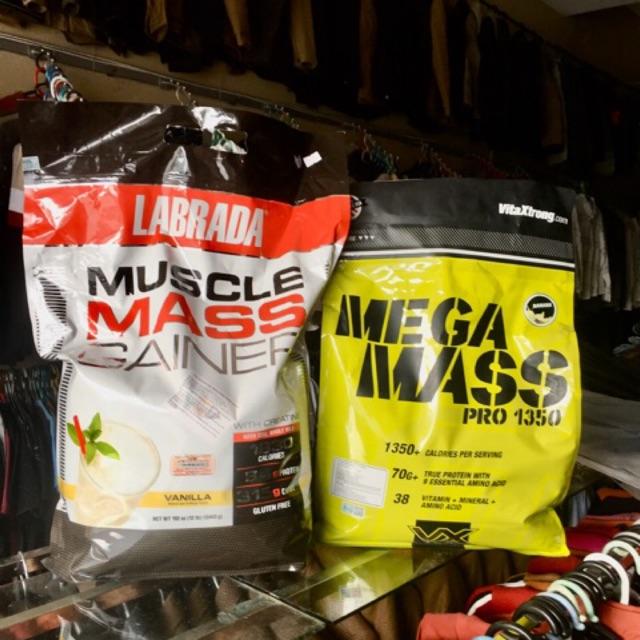 Sữa tăng cân tăng cơ cho người gầy, người tập Gym Muscle Mass, Mega Mass