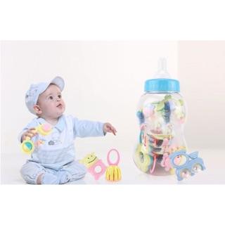 Bình ty baby toys xúc xắc 9 món