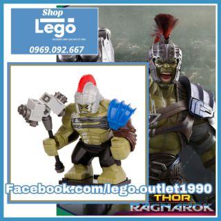 Lego xếp hình Hulk Ranarok (Búa) Big Figures Lego Minifigures Xinh Xh654 Decool 0281 thumbnail
