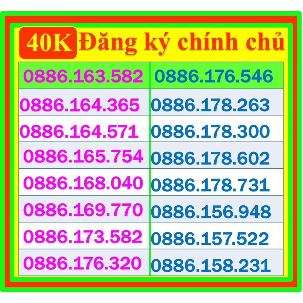 40k Sim Song Phát Vinaphone gọi chỉ 690đ/p