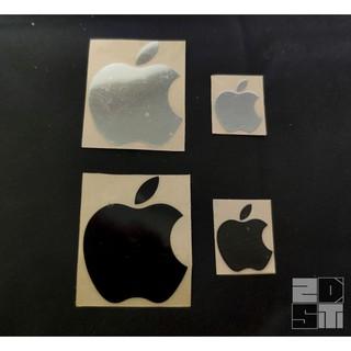 [Mã ELORDER5 giảm 10k đơn 20k] Sticker Apple kim loại mạ niken cao cấp trang trí Điện thoại, PC, Laptop
