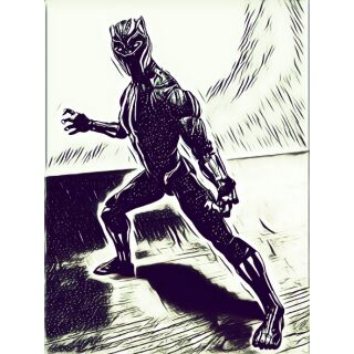 Mô hình Black panther marvel legend