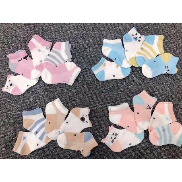 Set 5 đôi tất Kid Sock điều hòa cho bé