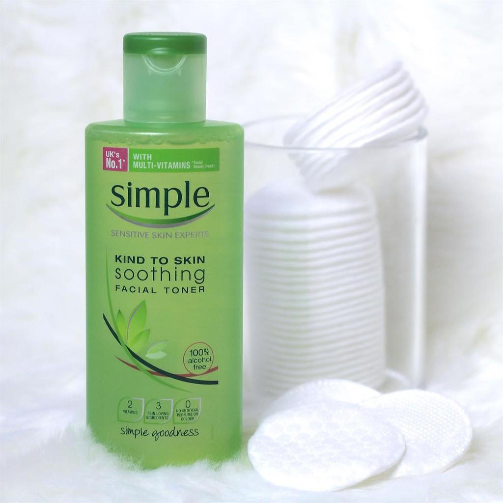 [BÁN SỈ] Nước Hoa Hồng Simple kind To Skin Soothing Facial Toner - 3091599 , 789075737 , 322_789075737 , 115000 , BAN-SI-Nuoc-Hoa-Hong-Simple-kind-To-Skin-Soothing-Facial-Toner-322_789075737 , shopee.vn , [BÁN SỈ] Nước Hoa Hồng Simple kind To Skin Soothing Facial Toner