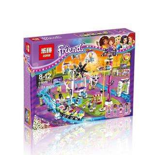 """""""GIÁ SỐC"""" Mẫu Lắp ráp Công Viên Giải Trí, Tàu Lượn, Vòng Quay Mặt Trời Lepin 01008-Lego Friends 41130"""