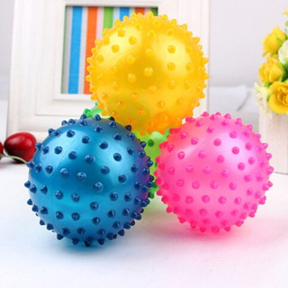 [BEW] Kids Inflatable Ball Rubber Toy Baby Outdoor Thorn Balloon Developmental Ball [OL]
