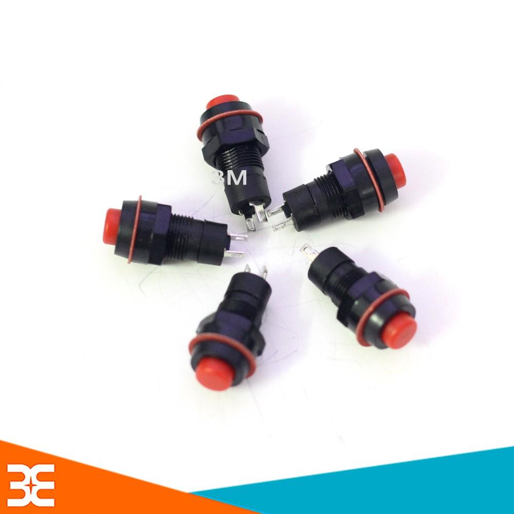 Nút Nhấn Đề Vỏ Nhựa - Giữ Trạng Thái - 1 Nút