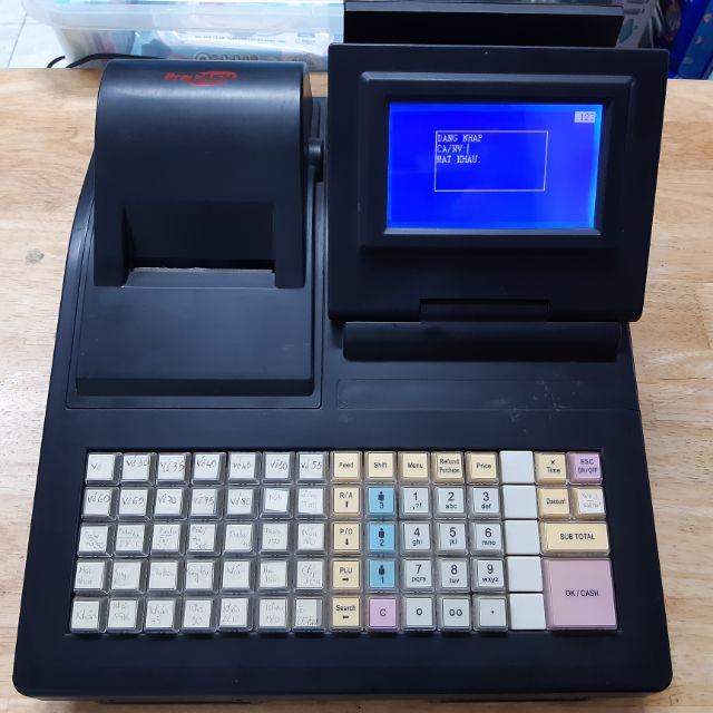 Máy tính tiền và in bill Procash 8000 (dính Pass) Giá chỉ 800.000₫