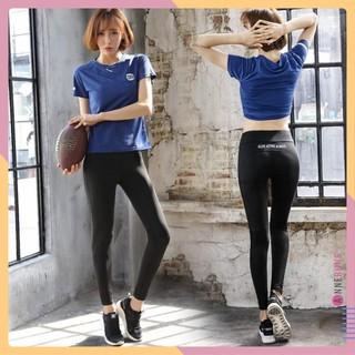 Set Bộ Đồ Quần Legging Áo thun Thể Thao Nữ Sensu ( Đồ Tập Gym, Yoga ) II Annerun Việt Nam
