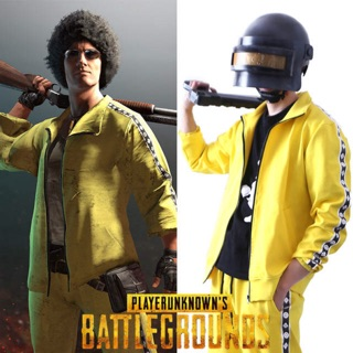 Bộ quần áo vàng (yellow) cosplay nhân vật nam PUBG