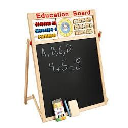 Bảng 2 mặt kèm bộ chữ số bằng gỗ gắn nam châm cho bé - 3396752 , 949193048 , 322_949193048 , 129000 , Bang-2-mat-kem-bo-chu-so-bang-go-gan-nam-cham-cho-be-322_949193048 , shopee.vn , Bảng 2 mặt kèm bộ chữ số bằng gỗ gắn nam châm cho bé