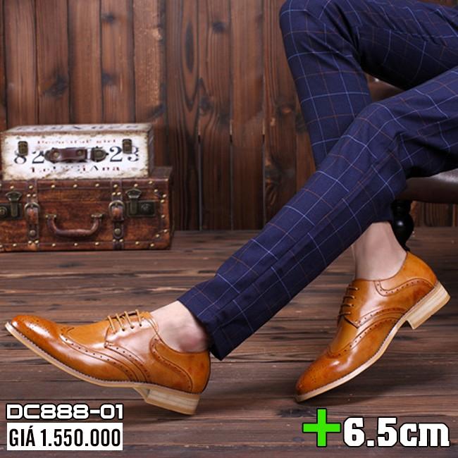 [Xả Kho Không Lợi Nhuận] Giày da cao cấp Ishoes DC888 - Sang Trọng, Lịch lãm, Êm ái