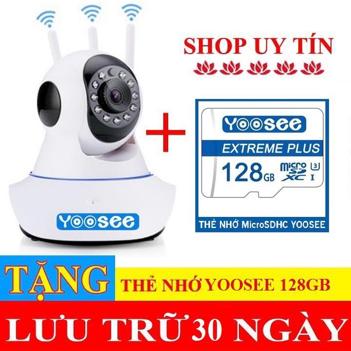 (Tặng thẻ YooSee 128gb)Camera ip wifi không dây yoosee 3 râu, Siêu sắc nét 2.0 mpx Full HD 1920 x 1080p, Bảo hành 2 năm - 22983639 , 3714443260 , 322_3714443260 , 600000 , Tang-the-YooSee-128gbCamera-ip-wifi-khong-day-yoosee-3-rau-Sieu-sac-net-2.0-mpx-Full-HD-1920-x-1080p-Bao-hanh-2-nam-322_3714443260 , shopee.vn , (Tặng thẻ YooSee 128gb)Camera ip wifi không dây yoosee