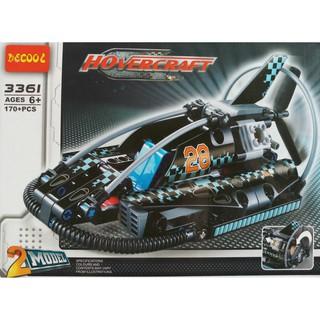 W077786 – 170PCS – Đồ chơi xếp hình Lego Máy bay 2 trong 1 3361