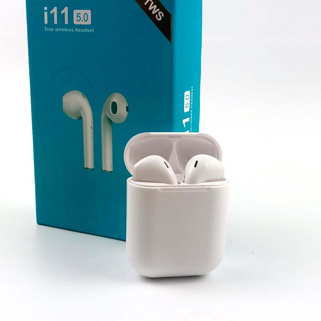 Tai Nghe Bluetooth Mini I11 V5.0 Nút Cảm Ứng Như Airpods