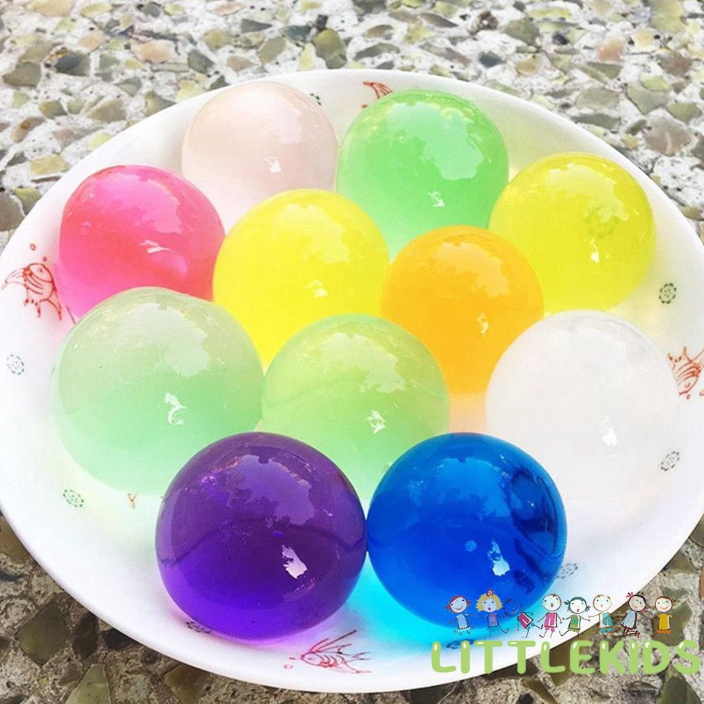 ♨RH-60Pcs Large Beads Orbeez Party Home Decor Jumbo Magic Water Balls