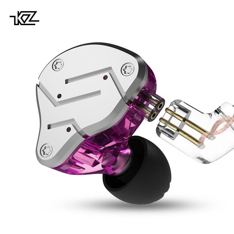 HIFI KZ ZSN 1 Driver DD+ 1 Driver BA Earphone Earbuds