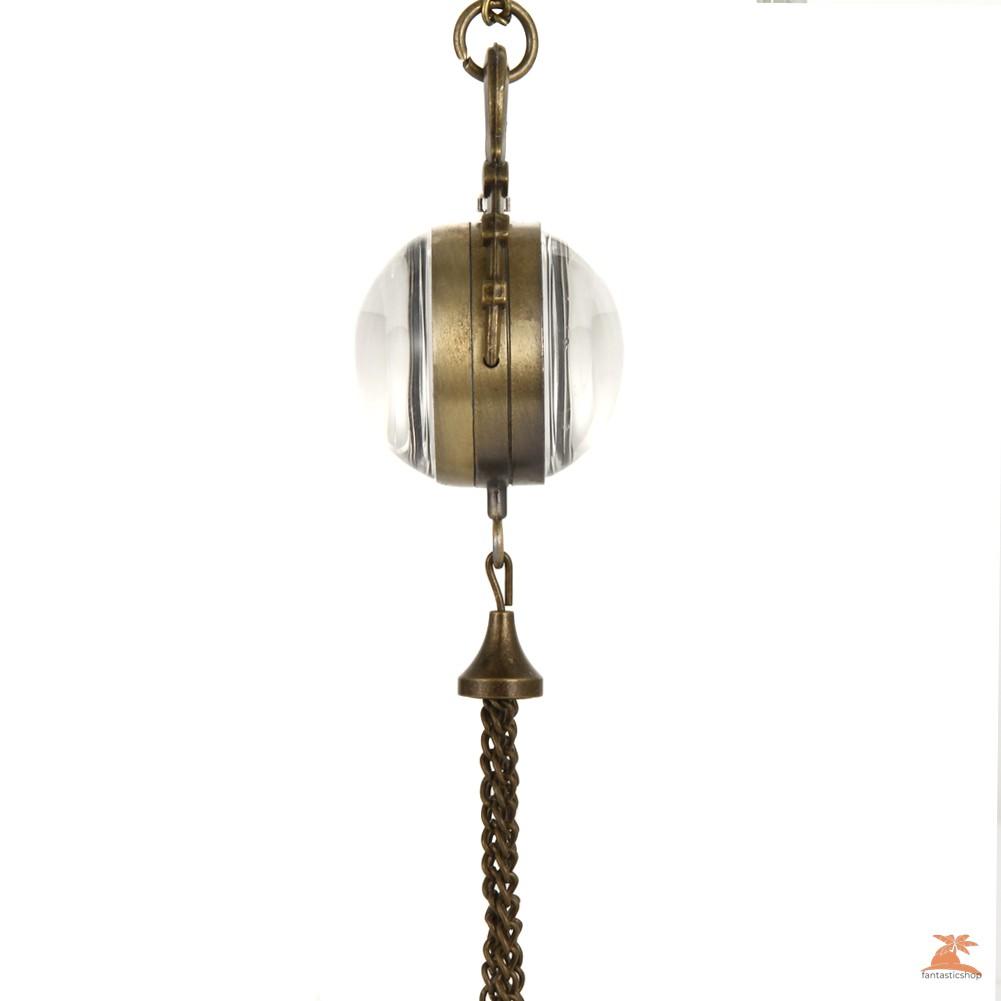 #Đồng hồ bỏ túi# Pocket Watch Steel Retro Tassels Pendant Long Necklace Chain Clock Quartz Watches