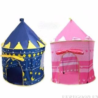 Lều bóng lâu đài cho bé