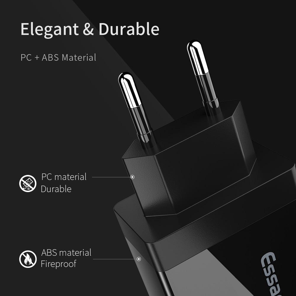 Đầu Chuyển Đổi Có Chức Năng Sạc Nhanh ESSAGER Đa Cổng USB 3.0 30W Tiện Dụng