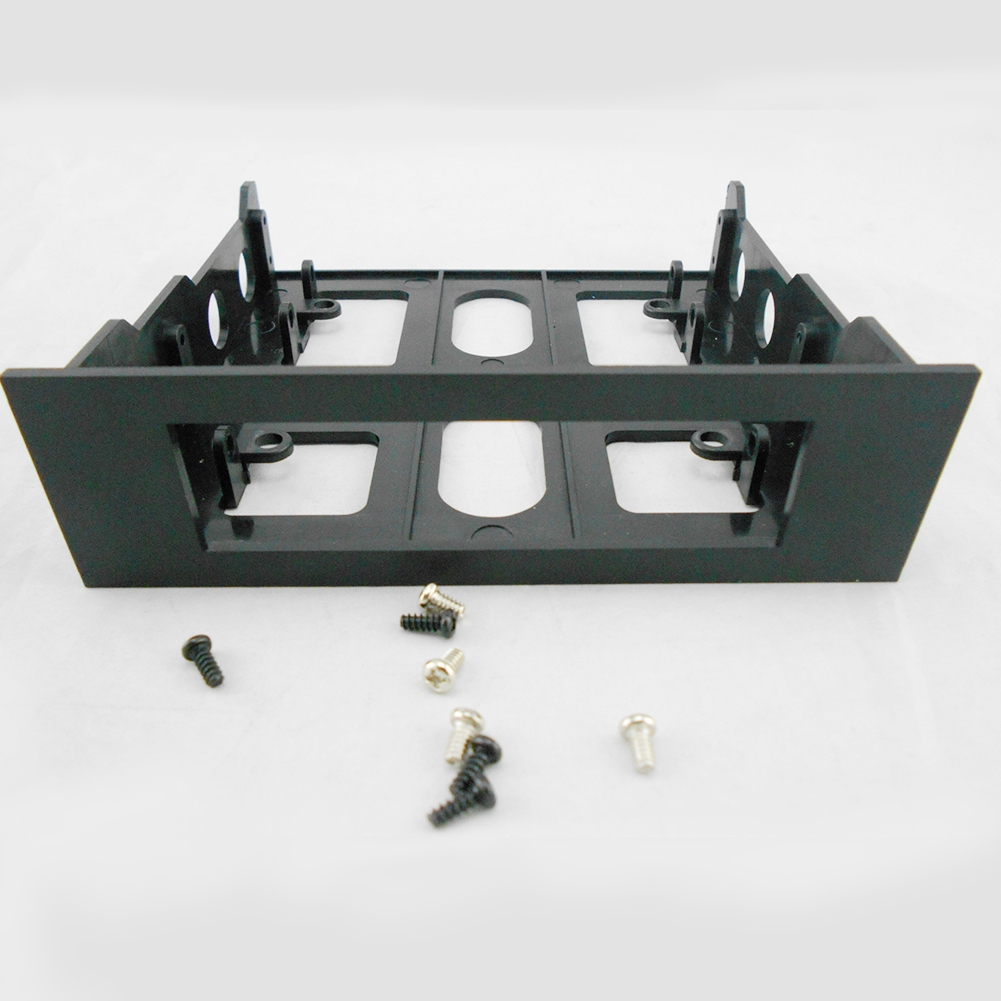 Bracket Mount Universal 3.5in To 5.25in Hard Drive Plastic Front Bay Adapter Giá chỉ 43.000₫