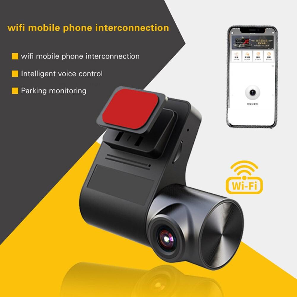 Camera Hành Trình V2 Wifi Cho Màn Android Độ Phân Giải 1080P Cảnh Báo Va Chạm