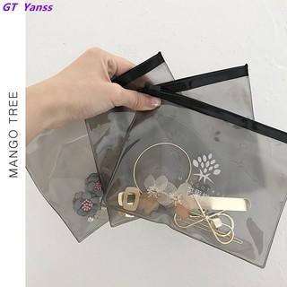 Simple and convenient PVC transparent storage bag earrings n