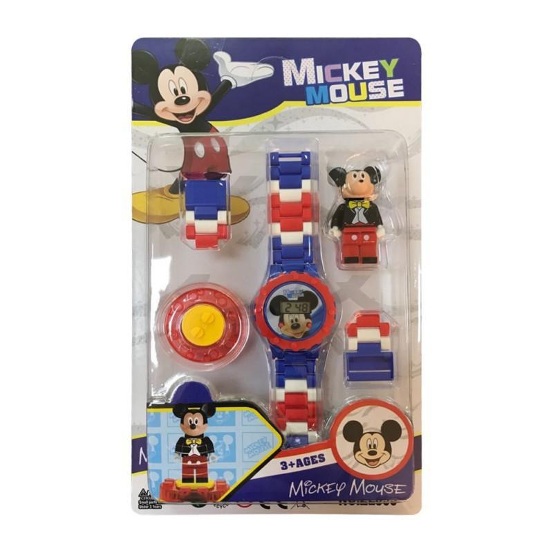 Bộ đồ chơi đồng hồ siêu nhân cho bé (Batman,Spider-man, iron-man, Hulk, Caption,Spiderman)