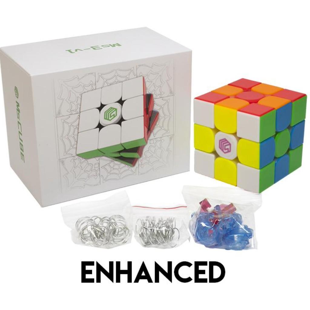 Rubik 3×3 MsCUBE Ms3-V1 M 3x3x3 Có Nam Châm