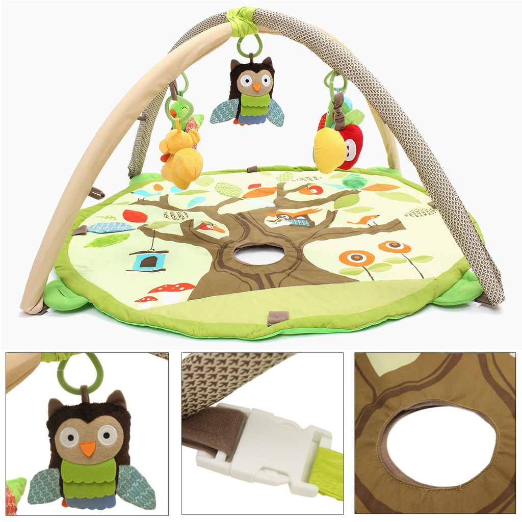 COD Baby Activity Playmat Large Play Mat  Children Gym Soft Floor Rug Kid Carpet Toy