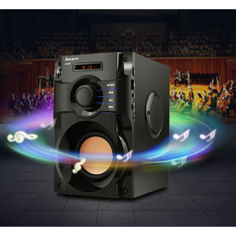 Loa bluetooth công suất lớn siêu Bass HAOYES RS  A100 ⚡ chất lượng âm thanh siêu đỉnh nhất tầm giá ⚡ Hàng chính hãng