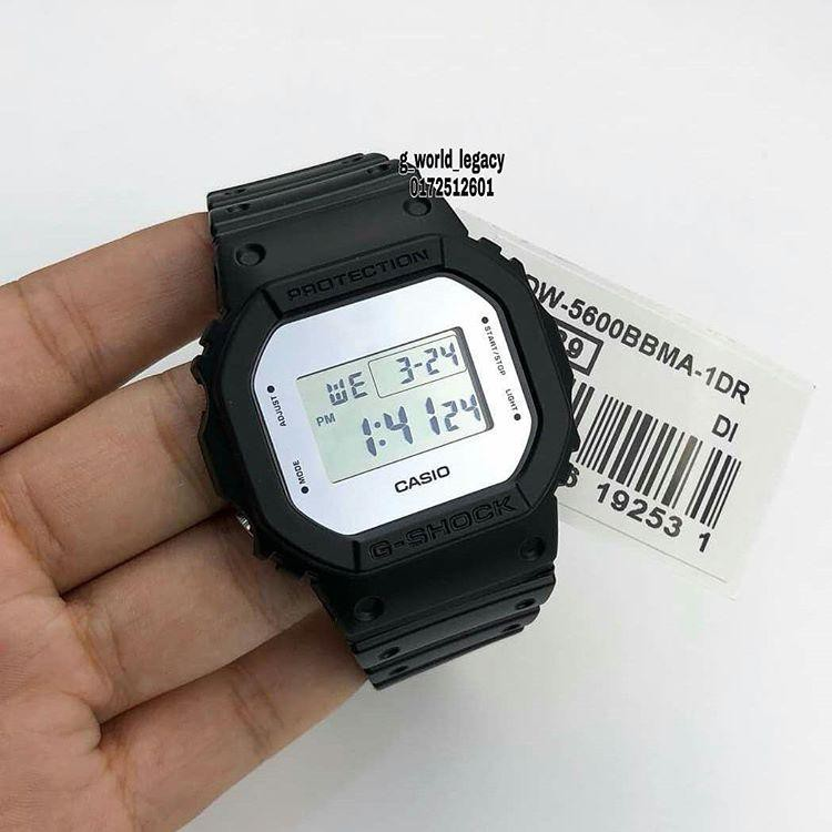 Đồng hồ nam G-SHOCK chính hãng Casio Anh Khuê DW-5600BBMA-1DR
