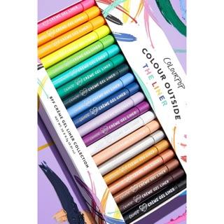 Bút kẻ mắt Colourpop Creme Gel Liner nhiều màu Colourpop Eyeliner Colourpop liner Colourpop gel eyeliner bút kẻ mắt