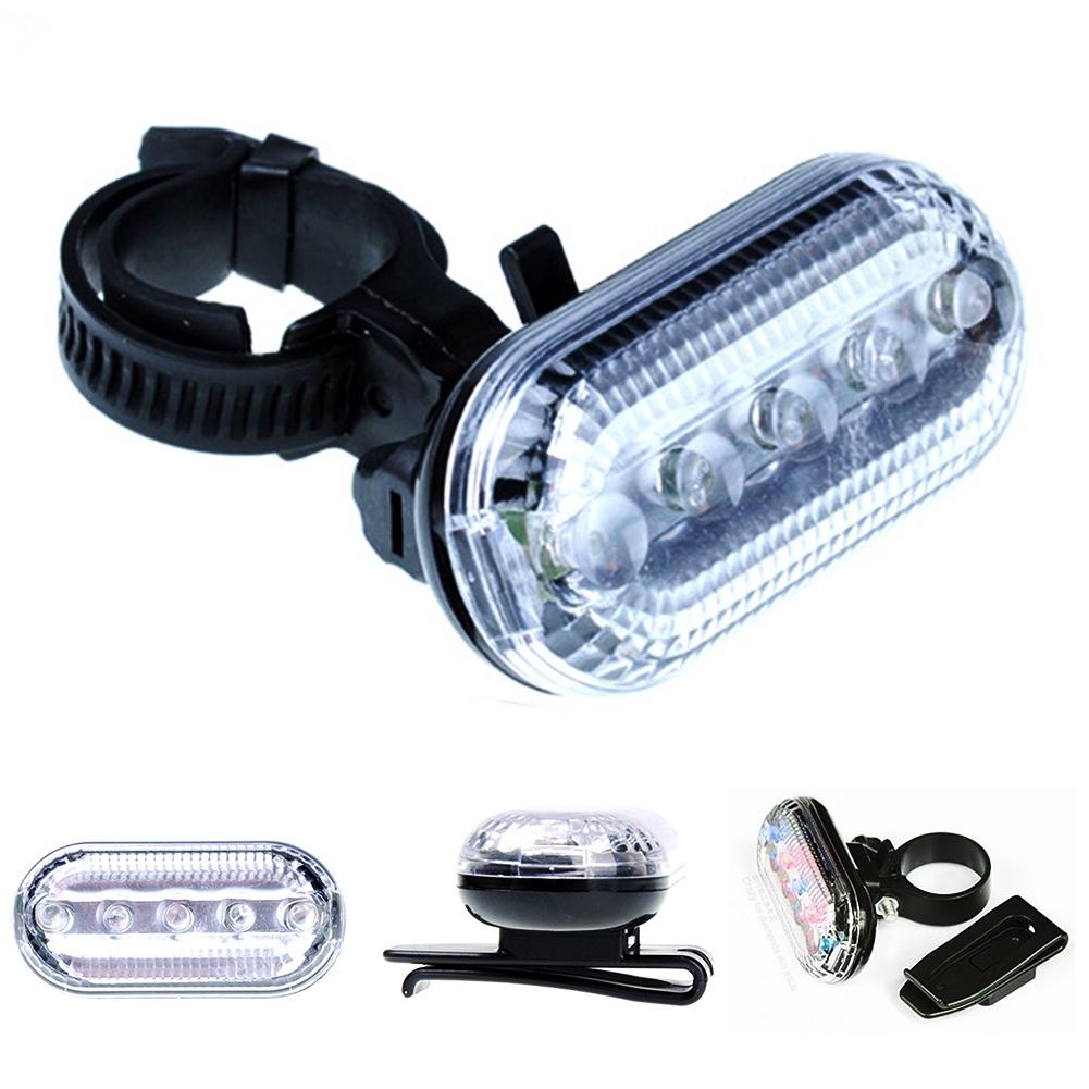 5 LED Rear Safety Flashlight Tail light Lamp 3 Mode Bicycle Light Bike