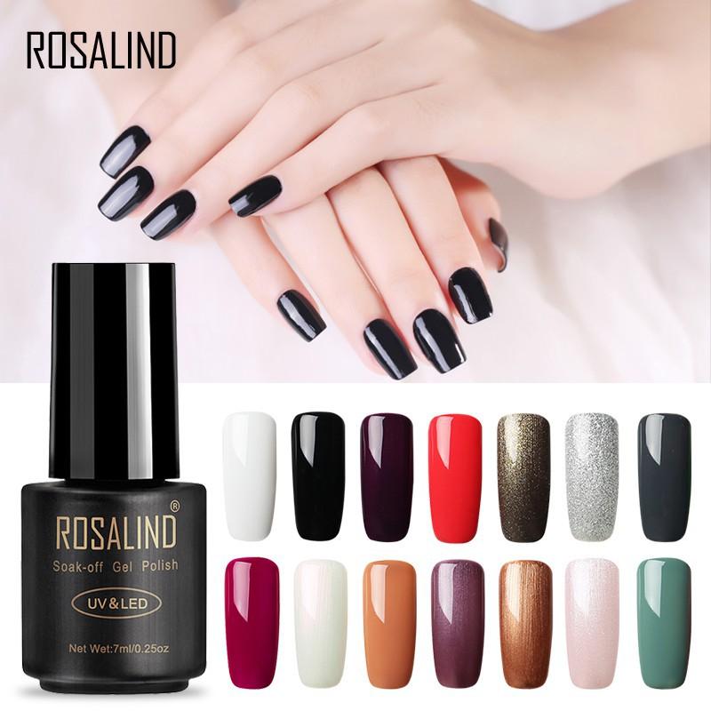 Gel sơn bóng móng tay Rosalind 7ml cho nữ