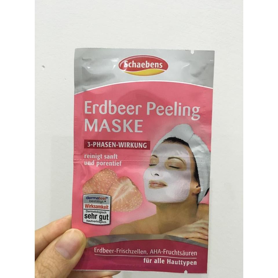 Mặt nạ Schaebens hương dâu tây (Erdbeer Peeling)