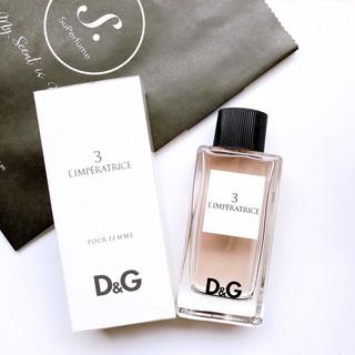 [ Mẫu thử ] Nước hoa tươi ngon, mát lành D G 3 L Imperatrice 10ml thumbnail