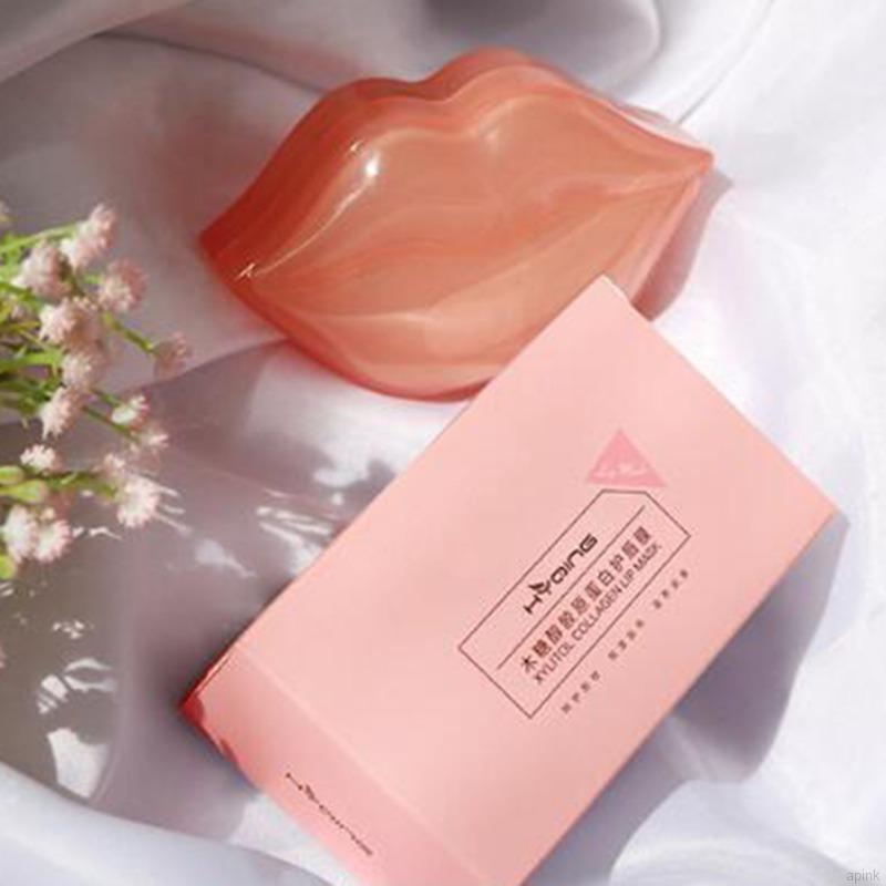 [Hàng mới về] Set 20 mặt nạ môi collagen dưỡng ẩm tẩy da chết môi