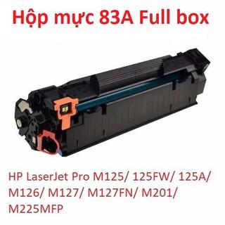 Hộp mực 83A mới (full box) dùng cho máy in HP M125, 125FW, 125A, M126 …..
