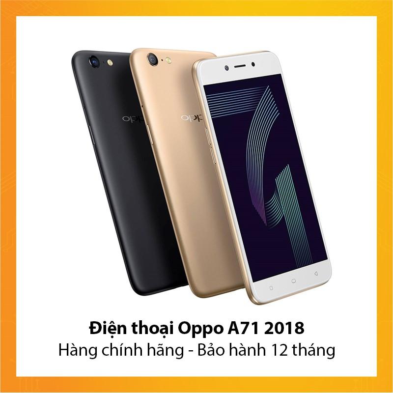Điện thoại Oppo A71 2018 - Hàng chính hãng - Bảo hành 12 tháng - 10084440 , 905190778 , 322_905190778 , 3690000 , Dien-thoai-Oppo-A71-2018-Hang-chinh-hang-Bao-hanh-12-thang-322_905190778 , shopee.vn , Điện thoại Oppo A71 2018 - Hàng chính hãng - Bảo hành 12 tháng