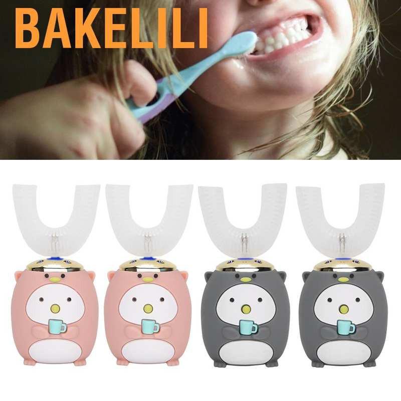 (Hàng Mới Về) Bàn Chải Đánh Răng Bằng Điện Thông Minh Dành Cho Trẻ Em