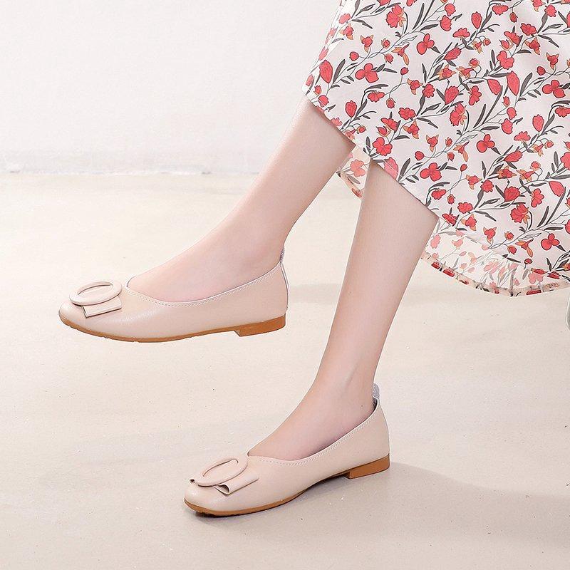 Giày Bệt Mũi Vuông Đẹp Mắt Dành Cho Bạn Nữ