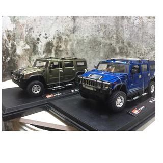 Mô hình SUV HUMMER tỉ lệ 1/24 MZ ( có đế trưng bày , mở được 2 cửa và cốp )