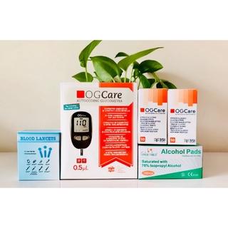 Hộp 25 Que Thử Đường Huyết dùng cho máy đo đường huyết OGCare thumbnail
