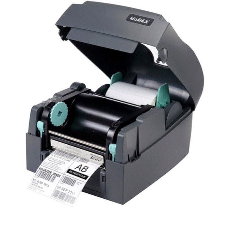 Máy in tem mã vạch dPos GoDEX G530 300dpi - G500 203dpi in tem nhãn tem phụ chuyên dụng sử dụng mực ribbon chuyên dụng