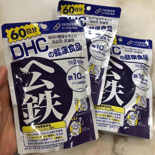 Viên uống bổ sung sắt DHC - 9932502 , 1071034730 , 322_1071034730 , 240000 , Vien-uong-bo-sung-sat-DHC-322_1071034730 , shopee.vn , Viên uống bổ sung sắt DHC