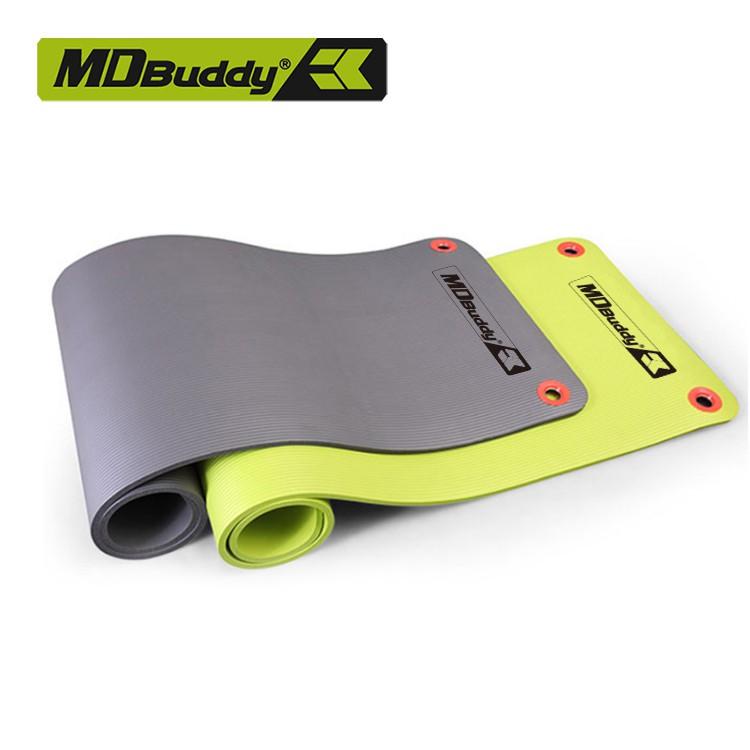 [Nhập MDBUVIP8 giảm 20k] Thảm tập Yoga chất liệu NBR cao cấp MDBuddy MD9004 - 13mm