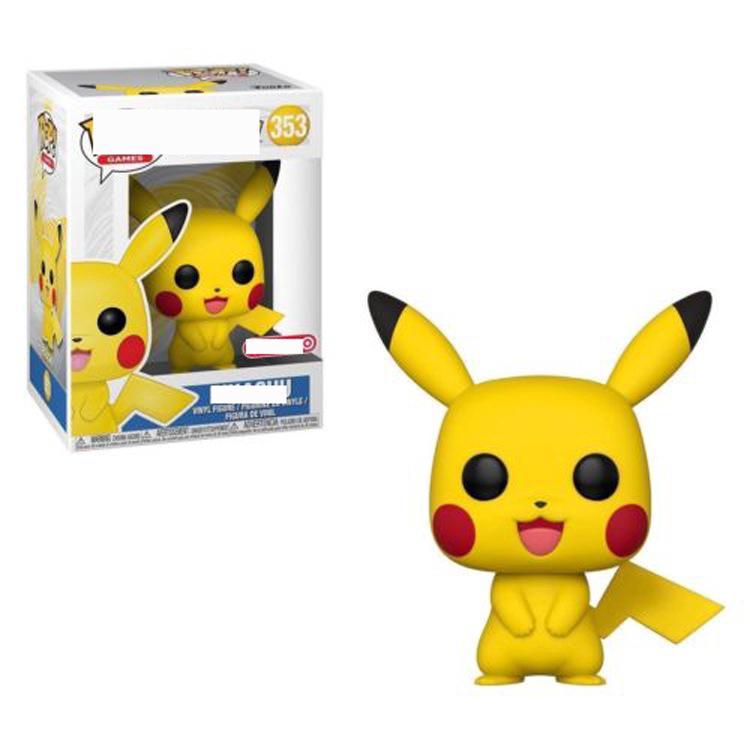 FUNKO POP Pet Pokemon Baby Pikachu Hướng dẫn sử dụng Hoạt hình Người mẫu văn phòng