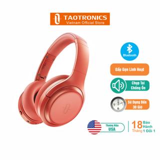 Tai Nghe TaoTronics Chụp Tai Bluetooth, Chống Ồn, Sạc Nhanh, Hoạt Động 30 Giờ TT-BH060 thumbnail