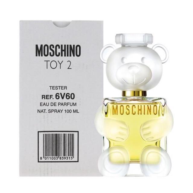 Nước Hoa Gấu Moschino Toy 2 new 2019 Tester 100ml   Shopee Việt Nam